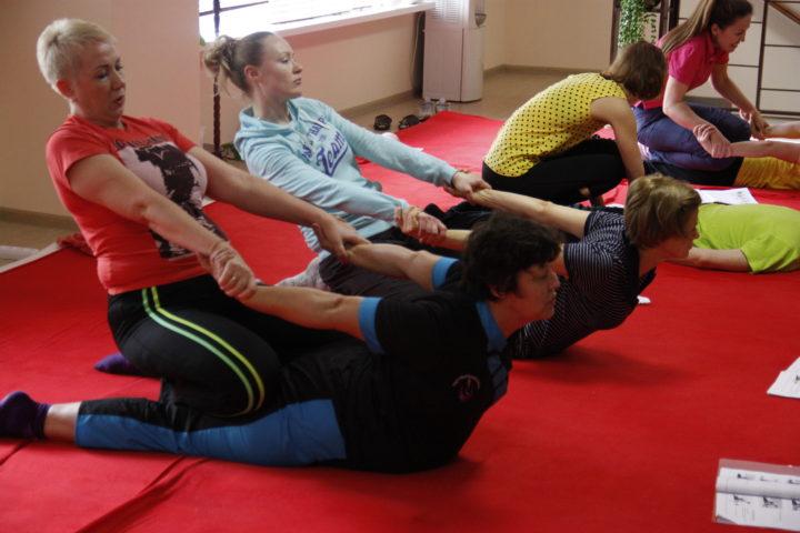 С 30 апреля-6 мая прошёл семинар Л. Сокольской -«Тайский массаж — это просто!» «Азбука тайского массажа». Профкурс «Древний тайский массаж в традиции Ват По (южный стиль)»