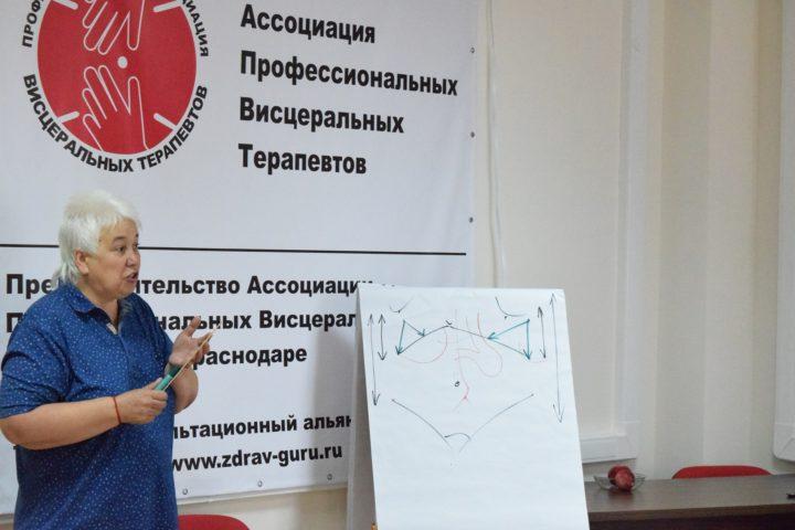 22-24 августа — Работа с диафрагмами для коррекции дисфункций в висцеральной терапии. Г. В. Пономаревой