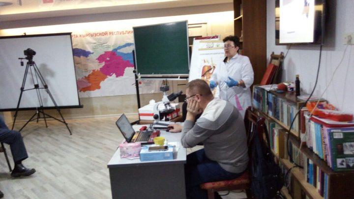 Семинар » Тестирование внутренних сред 1 ст.» в Киргизии