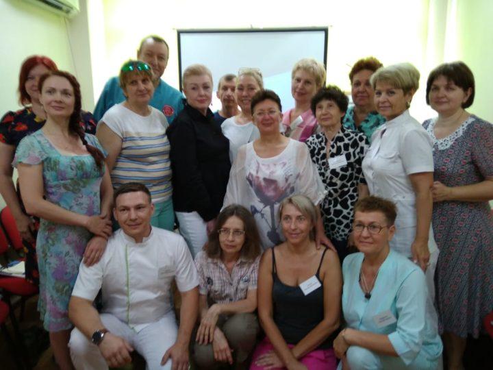 Семинар О.И. Шишовой в Краснодаре