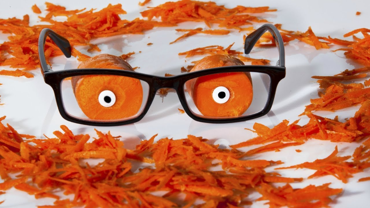 Морковка может улучшить зрение
