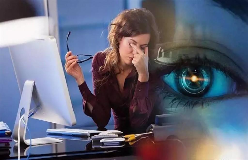 Монитор компьютера вреден для глаз