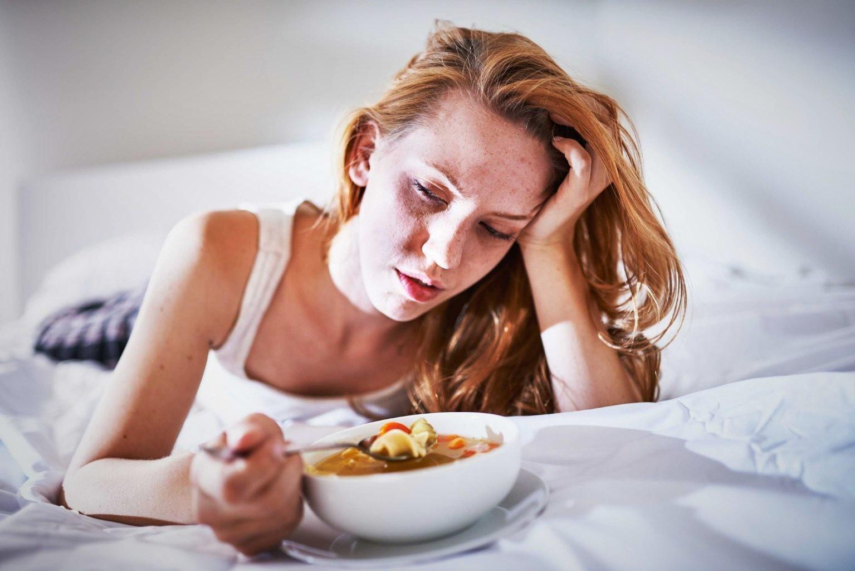 Ешьте, когда простужены, и сидите на диете, когда жар