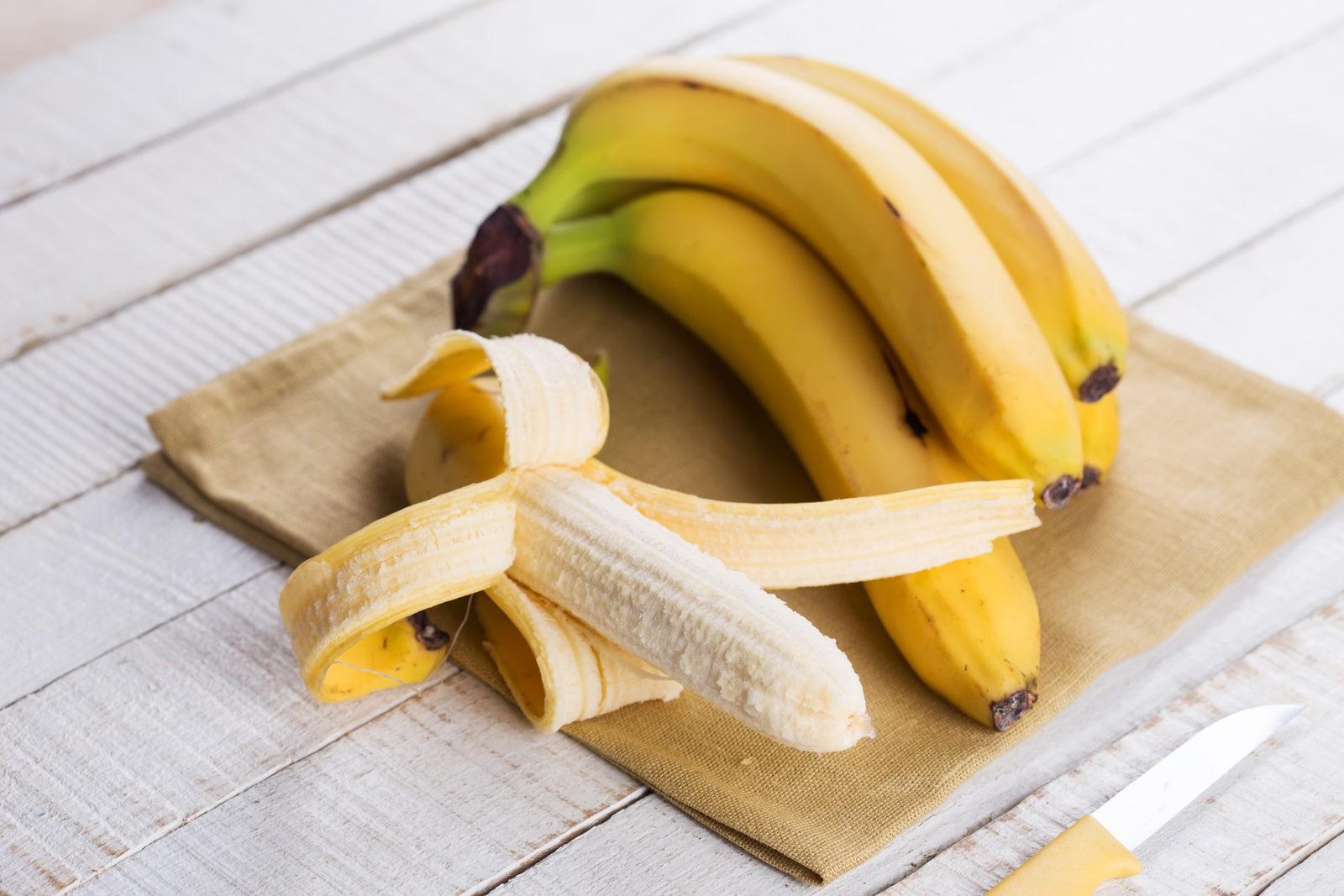 Бананы имеют высокий уровень жирности